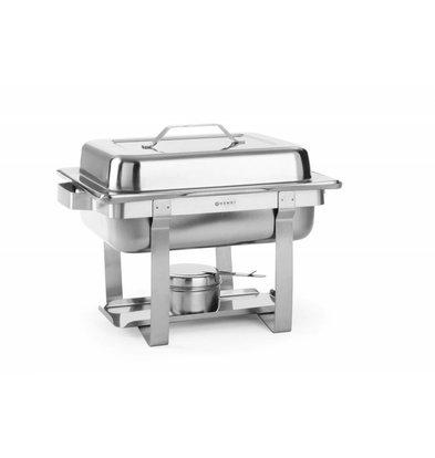 Hendi Chafing Dish   1/2 GN   4,5 Liter   385x295x(H)310mm