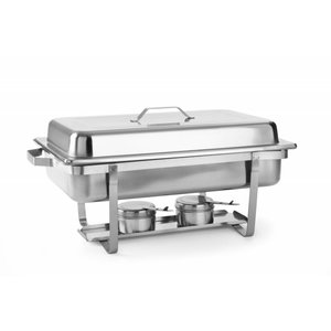 Hendi Chafing Dish   1/1 GN   9 Liter   620x350x(H)310mm   XXL AANBIEDING!