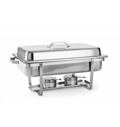 Hendi Chafing Dish | 1/1 GN | 9 Liter | 620x350x (H) 310mm | XXL OFFER!
