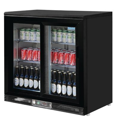 Polar Barkoeling with 2 Glass Doors - 182 bottles - 233 liters - 925 (H) x 920 (W) x 535 (D)