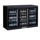 Polar Bar Kühlschrank + 3 Glas-Schiebe - 268 Flaschen - 335 Liter - 1350 (b) x520 (d) X920 (H) mm