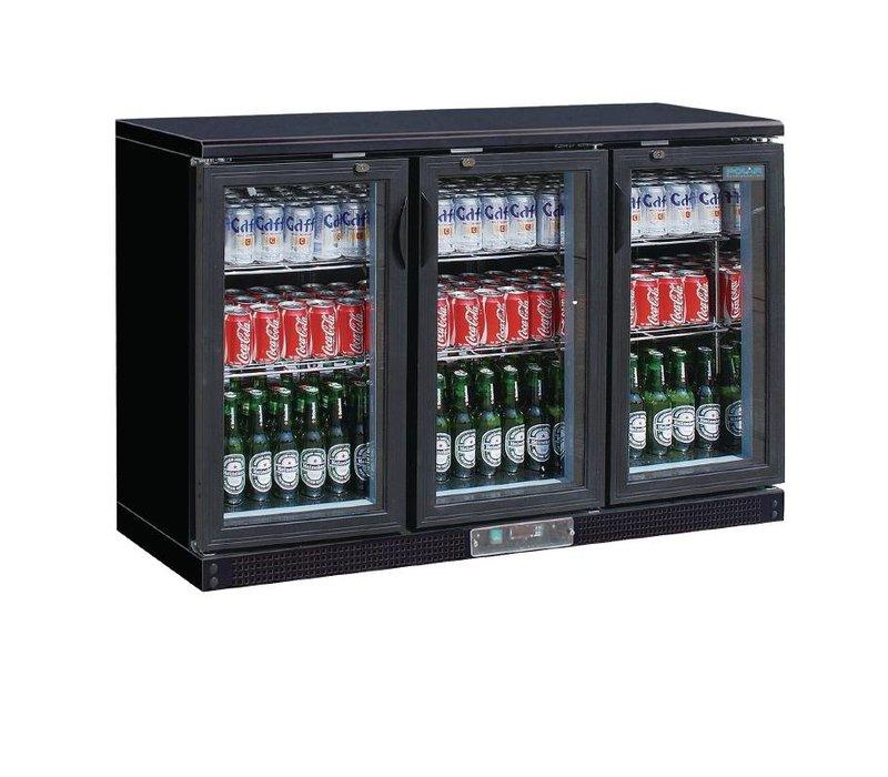 Polar Bar Kühlschrank + 3 Falttore Glass - 268 Flaschen - 335 Liter ...