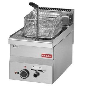 Modular Fryer Series 600 Modular | Electrical | Mit Ablassventil | 10 Liter | 7,5 kW | 400V | 300x600x (H) 280cm