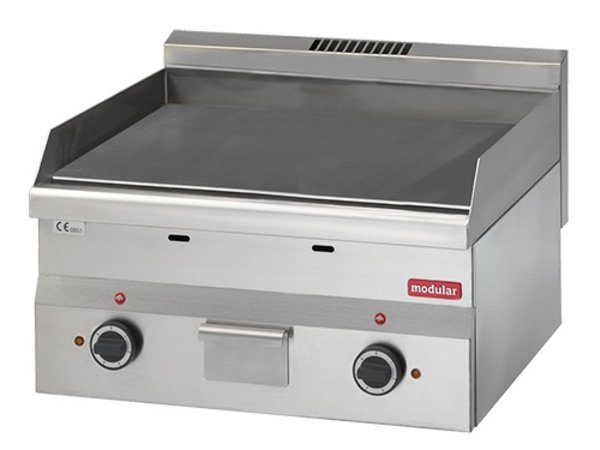 Modular 600 Modular griddle - Electric - Grooved - 30x60x (h) 28cm - 3 kW
