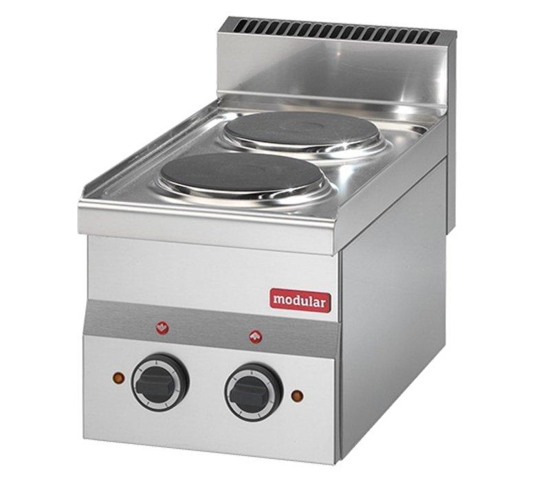Modular 600 Modular Electric stove   2 Pits   3000 Watt   300x600x (H) 280mm
