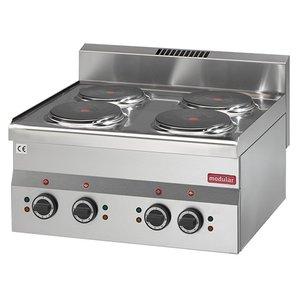 Modular 600 Modular Electric stove | 6 kW | 4 Pits | 6000 Watts