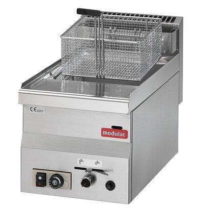 Modular Gas Fritteuse | 600 Modular | 8 Liter | 6,8 kW | 300x600x (H) 280mm