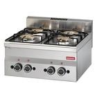 Modular Stove Modular 600 | 4 burner | 13,8 kW | propane | 600x600x (H) 280mm