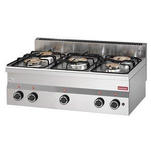 Modular Stove Modular 600 | 6 burner | 17,4 kW | 900x600x (H) 280mm