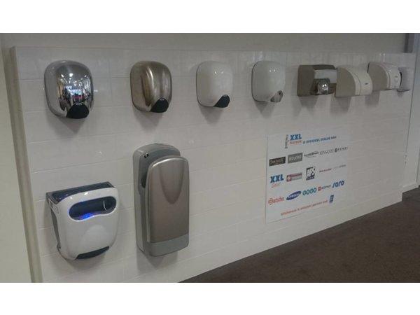 VAMA Plastic Hand Dryer White | 15 sec | 1850W | QUIETEST HAND DRYER THAT THERE