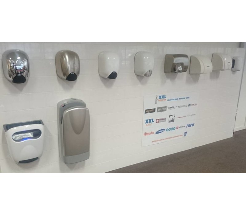 VAMA Hand Dryer Chrome | SUPER POWERFUL | 8-10 sec | 1100W - XLerator / eXtreme '' Look-a-Like ''
