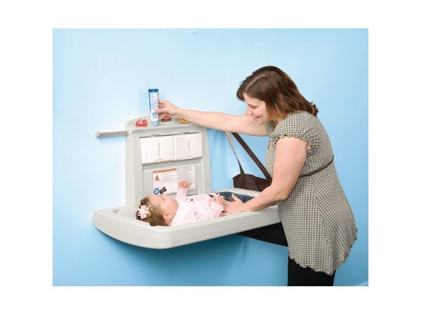 XXLselect Baby Care Table - with Belt - 911x718x (h) 102mm