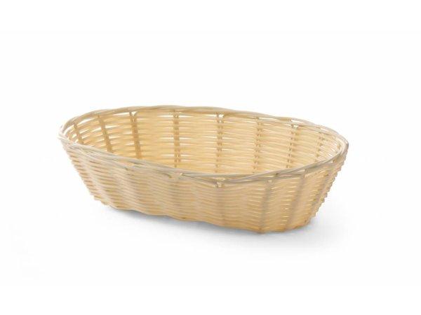 Hendi Bread Basket Oval - Polyrattan - 225x130x (h) 55 mm