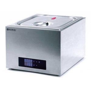 Hendi Sous-Vide-System GN 2/3 - 13 Liter - 400W - 353x335x (H) 290mm