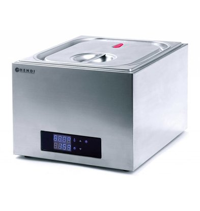 Hendi Sous vide System GN 2/3 - 13 Liter - 400W - 353x335x (H) 290mm
