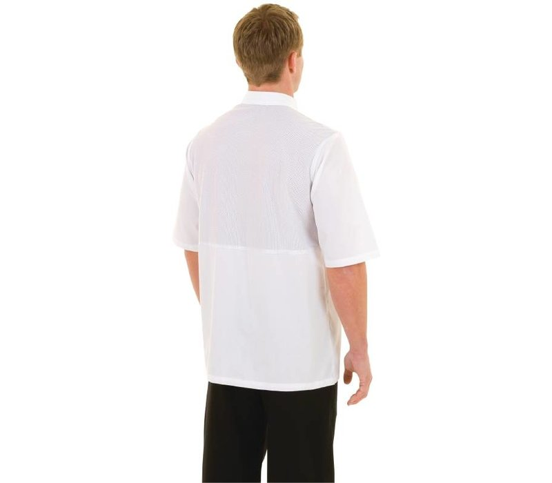 XXLselect Chef Works Chefs Tube Monteal - Short Sleeves - Available in 6 sizes - White