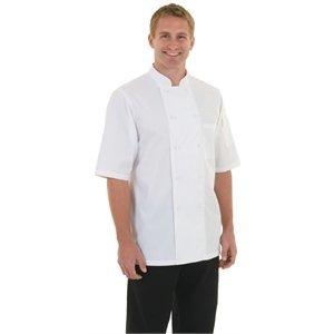 XXLselect Chef Works Koksbuis Monteal - Korte Mouwen - Beschikbaar in 6 maten - Wit