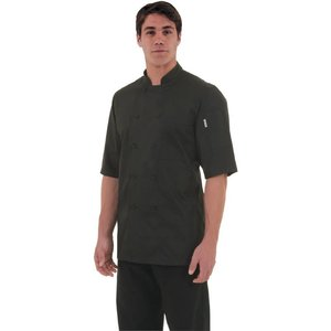XXLselect Chef Works Chefs Tube Montreal - Short Sleeves - Available in 6 sizes - Black