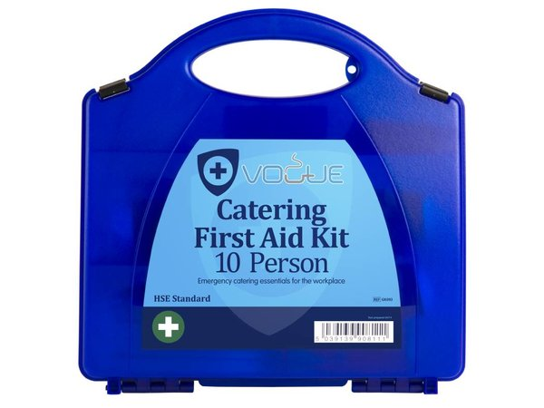 XXLselect Erste-Hilfe-Box Haus - 10 Personen - Blau