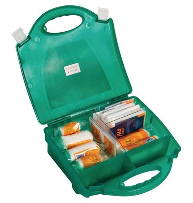 Vogue First Aid Case - For Proffesional & Private - 10 Persons - Green