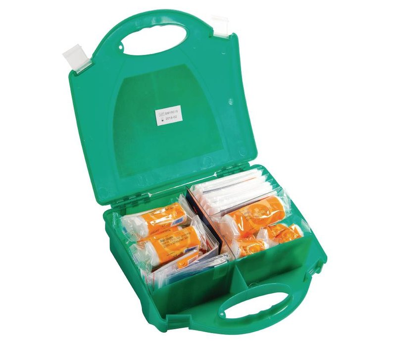 XXLselect First Aid Box Catering - 20 Persons - Green