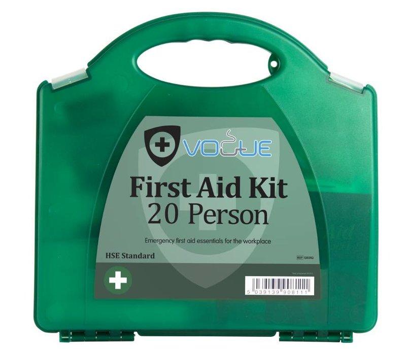 XXLselect Erste-Hilfe-Box Haus - 20 Personen - Grün