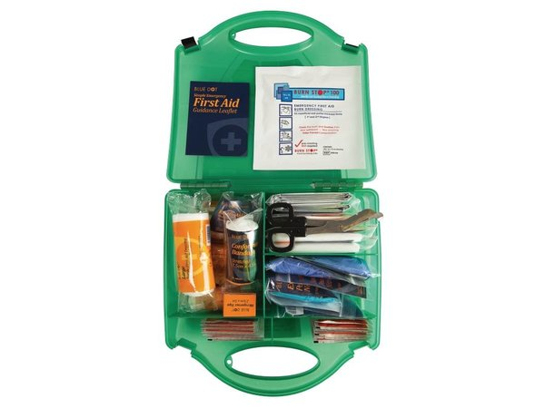 XXLselect First Aid Box Premium - Small - Green - 10 Persons