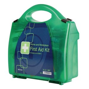 XXLselect First Aid Box Premium - Medium - Green - 20 Persons