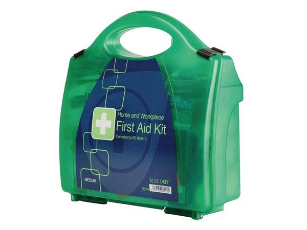 XXLselect First Aid Box Premium - Medium - Green - 20 Persons