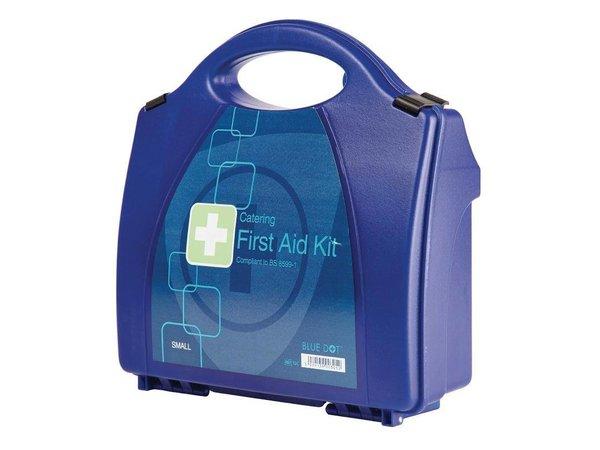 XXLselect Erste-Hilfe-Box Premium-- Kleine - Blau - 10 Personen