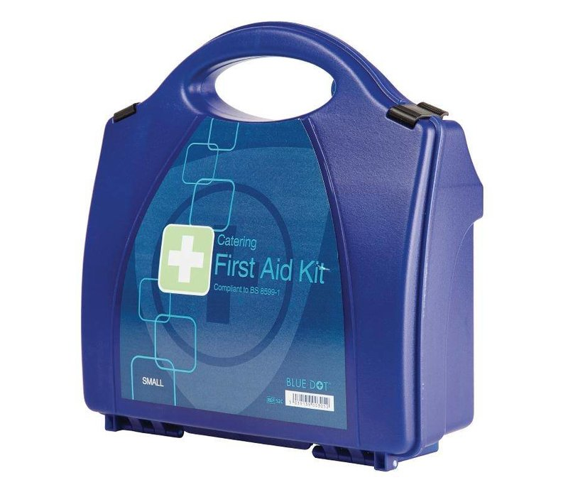 XXLselect First Aid Box Premium - Small - Blue - 10 Persons