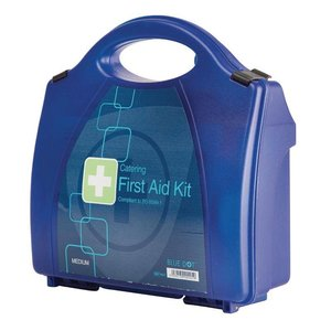 XXLselect Erste-Hilfe-Box Premium-- Medium - Blau - 20 Personen