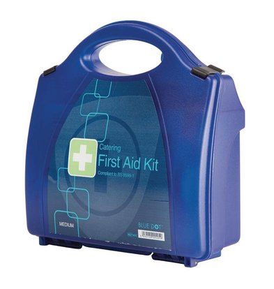 XXLselect First Aid Box Premium - Medium - Blue - 20 Persons
