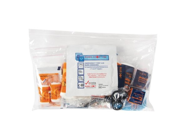 XXLselect Refill Small First Aid Box - Premium - Blue