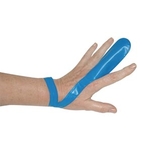 XXLselect Blauwe Vingerbeschermer - Voorzien van polsband -12 stuks