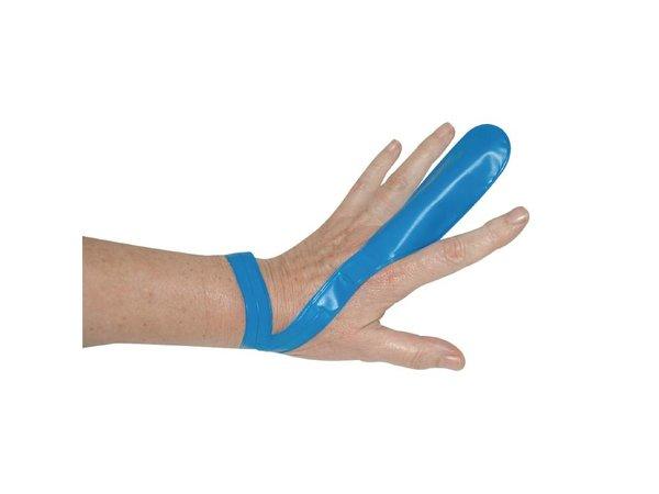 XXLselect Blau-Finger-Schutz - Inklusive Trageschlaufe -12 Stück