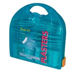 XXLselect Piccolo Pleisterdispenser- 200 blauwe pleisters - Inclusief muurbeugel