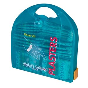 XXLselect Piccolo Pleisterdispenser- 200 blue patches - Includes wall bracket