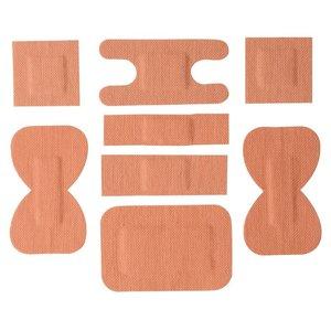XXLselect Pleisterset - Stoffe Patches - 100 Stück