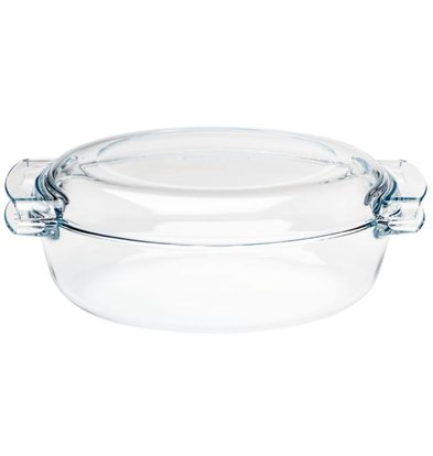 Pyrex Auflaufform Oval Auflaufform | 4,5 Liter | 390x110x (H) 150mm