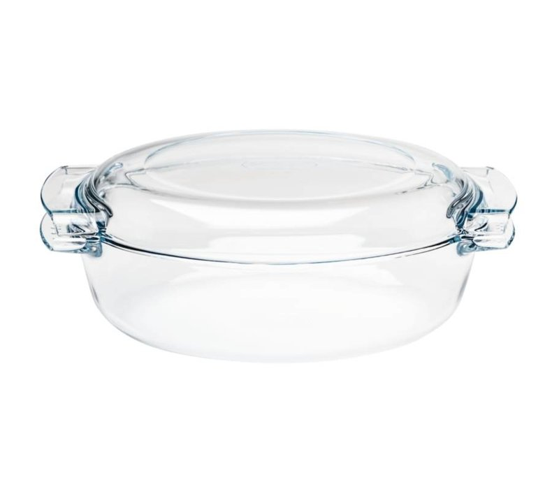 XXLselect Auflaufform Oval Auflaufform | 4,5 Liter | 390x110x (H) 150mm
