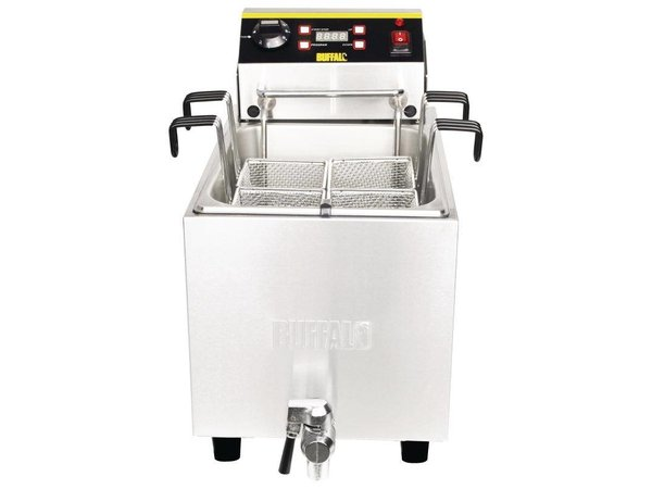 XXLselect Pasta Cooker with Timer and drain valve | SS | 8 Liter | 230 | 283x516x433 (h) mm