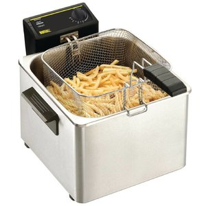 XXLselect Fryer Tabletop Grund | 8 Liter | 3 KW | 342x408x (H) 280mm
