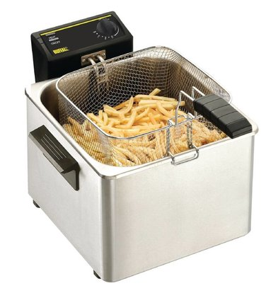 Caterlite Fryer Tabletop Basic | 8 Liter | 3 KW | 342x408x (H) 280mm