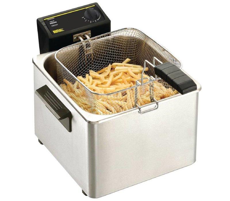 XXLselect Fryer Tabletop Basic | 8 Liter | 3 KW | 342x408x (H) 280mm