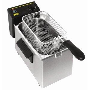 XXLselect Fryer Tabletop Basic | 3.5 Liter | 2 KW | 232 (b) x429 (d) x240 (H)