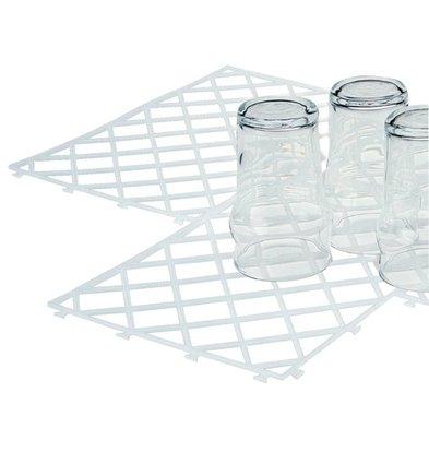 XXLselect Glasmatten - 10 Stück - 322x215mm