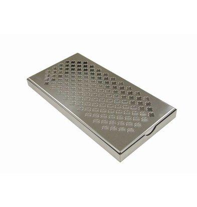 XXLselect Stainless steel tray Drip - 30x15cm
