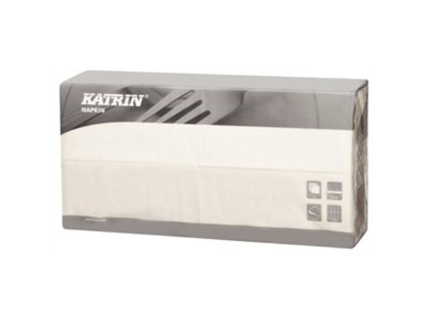 XXLselect Disposable napkins - Layer 3 - White - 1/8 Folded - 1000 pieces