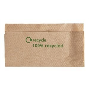 XXLselect Disposable napkins - Layer 1 - Recycled - 6000 pieces - 32x33cm